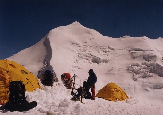 Himlung peak sponsor expedition start april 2010